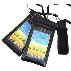 "Adjustable Armband Waterproof Pouch/Dry Bag For Smartphone (7""x4"")"