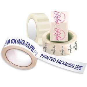 Printed Poly Propylene Packaging Tape (1 Color, 1 Side)